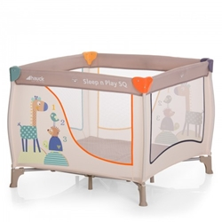 Hauck - Tarc Sleep and Play SQ Animals
