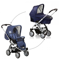 Icoo - Set Carucior 2 in 1 Coco Cocoon Navy