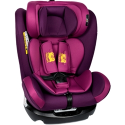Crocodile - Scaun Auto cu Isofix Riola Plus Purple, 0-36 kg