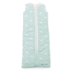 Childhome - Sac de Dormit Snoozy Clouds Mint Blue