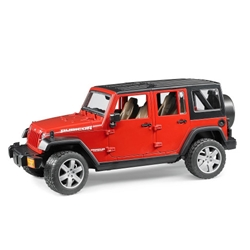 Bruder - Masinuta Jeep Wrangler Unlimited Rubicon