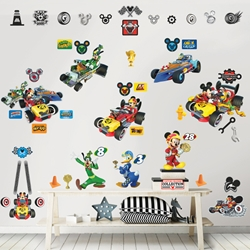 Walltastic - Kit Decor Mickey Mouse Rodster Race