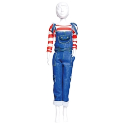 Dress your Doll - Set Croitorie Hainute de Papusi Tilly Jeans
