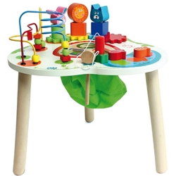 House of Toys - Centru de Joaca din lemn Big Activity Table