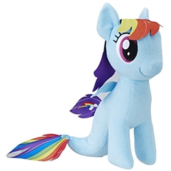 Hasbro - Jucarie Plus My Little Pony Rainbow Dash Sirena 25 cm