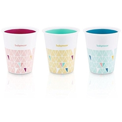 Babymoov - Set 3 Pahare Multicolore