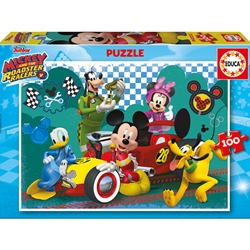 Educa - Puzzle Mickey and the Roadster Racers 100 Piese