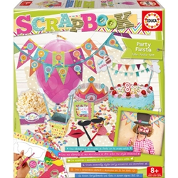Educa - Set Creativ Scrapbook Party Fiesta