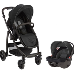 Graco - Carucior 2 in 1 Evo II TS Black Grey