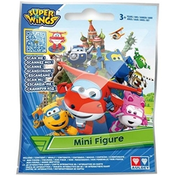 Super Wings - Figurina Avion Transformabil in Folie