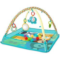 Bright Starts - Salteluta de Activitati cu Bile More-in-One Ball Pit Fun