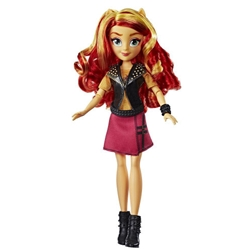 Hasbro - Papusa My Little Pony Equestria Girls Sunset Shimmer Classic Style Doll 28 cm