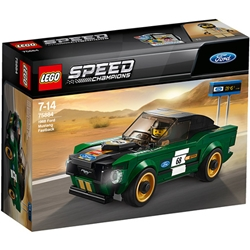 Lego - LEGO Speed Champions 1968 Ford Mustang Fastback 75884