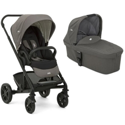 Joie - Carucior Multifunctional 2 in 1 Chrome Foggy Gray