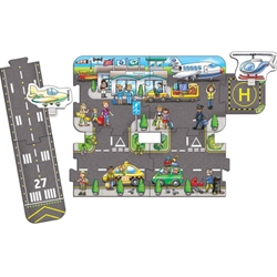 Orchard - Puzzle Gigant de Podea Aeroport (9 piese) Giant Road Expansion Pack Airport