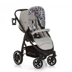 Hauck - Carucior 3 in 1 Montreal Plus Easy Travel Gumball Grey