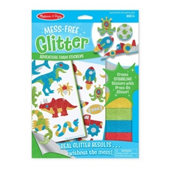 Melissa and Doug - Set Creatie Abtibilduri cu Sclipici Aventuri