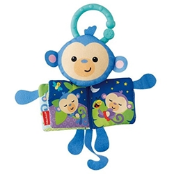 Fisher-Price - Carticica Moale Maimutica