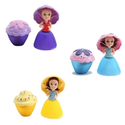 Haschel Holdings Limited - Set 3 Papusi Mini Cupcake - Mary, Valerie, Gwenn