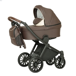 Krausman - Carucior 3 in 1 Rider Soft Brown