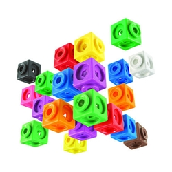 Educational Insights - Set de Constructie 200 piese MathLink
