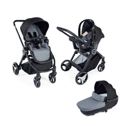 Chicco -  Carucior 3 in 1 Trio Best Friend Comfort