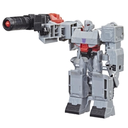 Hasbro - Figurina Transformers Cyberverse 1-Step Fusion Mega Shot, Colectia Action Attackers
