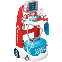 Smoby - Jucarie Set Doctor cu Carucior
