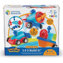 Learning Resources - Joc De Indemanare 123 Hai sa Construim