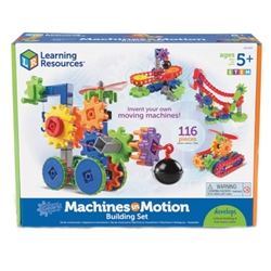 Learning Resources - Set de Constructie Gears Utilaje in Miscare