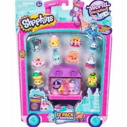 Moose - Set 12 Figurine Shopkins Colectia Europa