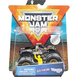 Spin Master - Masinuta Metalica Monster Jam Badnews Travelsfast