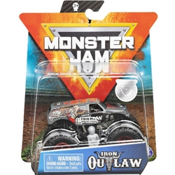 Spin Master - Masinuta Metalica Monster Jam Iron Outlaw