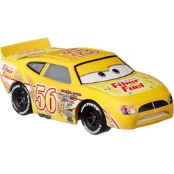 Mattel - Masinuta Disney Cars 3 Brush Curber, Scara 1:55