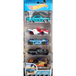 Mattel - Set 5 Masinute Hot Wheels Cars - Wave Cravers
