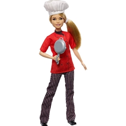Barbie - Papusa Barbie by Mattel Careers Bucatareasa