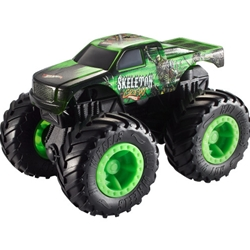 Mattel - Masinuta Monster Trucks Rev Tredz - Skeleton Crew Hot Wheels