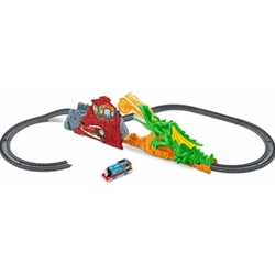 Fisher-Price - Set Locomotiva cu Sine TrackMaster Dragon Escape Thomas and Friends
