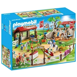 Playmobil - Set de Constructie Ferma Poneilor - Country