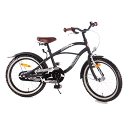 EandL CYCLES - Bicicleta Black Cruiser 18 inch