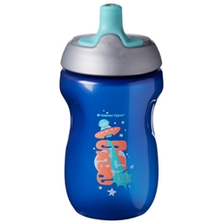 Tommee Tippee - Cana Sports ONL 300 ml 12 luni+, Albastra