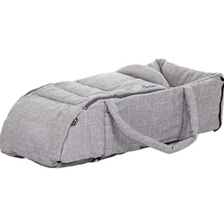 ABC-Design - Port Bebe cu Manere Carry Soft Woven Grey