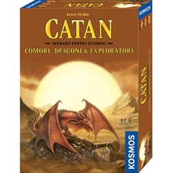 Kosmos - Colonistii din Catan - Comori, Dragoni and Exploratori, Extensie 3-4 Jucatori, 6 Scenarii