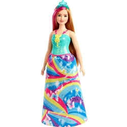 Barbie - Papusa Barbie by Mattel Dreamtopia Printesa GJK16