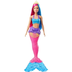 Barbie - Papusa Barbie by Mattel Dreamtopia Sirena GJK08