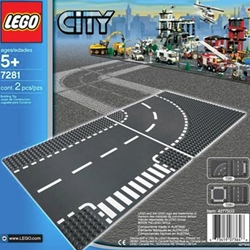 Lego City - Curba si Intersectie