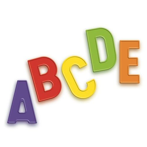 Magnetic Letters Upper Case