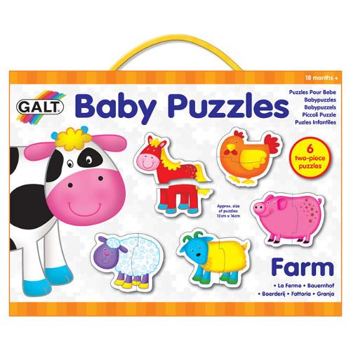 Baby Puzzle Farm - Puzzle Ferma de Animale