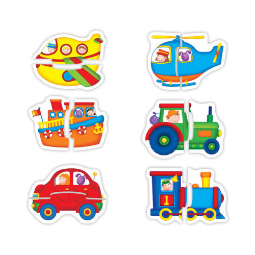 Baby Puzzle Transport - Vehicule Transport