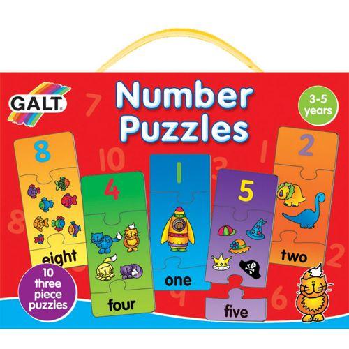 Galt Number Puzzles – Puzzle cu Numere